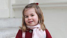 Charlotte slaví 3. narozeniny! Kate ji letos nestihla vyfotit