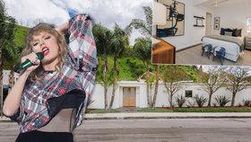 Zpěvačka Taylor Swift prodává svoji skrýš! Za 60 milionů