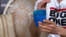 Vyrobte si z PET lahve roztomilý obal na květináč