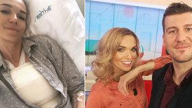 Návrat Mašlíkové do Snídaně s Novou: Pouhý den po plastice prsou?!