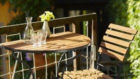 Nejhezčí nábytek na balkon, terasu i lodžii. Kde ho koupíte?