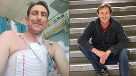Jan Antonín Duchoslav alias Viky Cabadaj: Operace srdce v IKEM!
