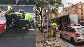 Dva chodci zemřeli u I. P. Pavlova: Nehodu sami zavinili, šli na červenou, uvedla policie