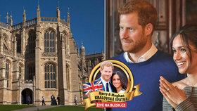 Tajemství kaple, kde si Harry s Meghan řeknou ANO: Hlídají ji královnina zvířata!