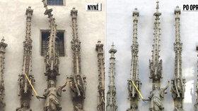 Chtějí smazat ostudu starou 500 let! V Brně narovnají věžičku, kterou z pomsty pokřivil sochař