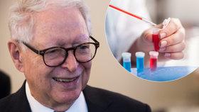 Vymyslel lék, který trhá rekordy. Vědec Vilček (84) věří i v porážku rakoviny