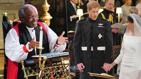 Zdrcující zpráva po svatbě Harryho a Meghan: Rakovina prostaty! Kněz, který šokoval královnu, musí na operaci