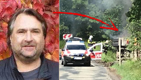 Nachomýtl se k nehodě a neváhal: Jaroslav zachránil šoféra z hořícího auta
