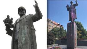Kontroverzní socha maršála Koněva: Nová deska vysvětlí jeho historickou roli při okupaci