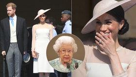 Královna připravila Meghan očistec! Půl roku smí jen sedět a poslouchat
