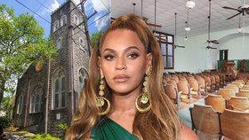 Beyoncé si koupila kostel! Je 100 let starý a plísně je v něm požehnaně