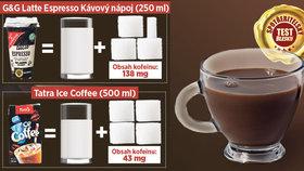 Přeslazené mléko s příchutí kávy! Ledové kávy propadly v testu
