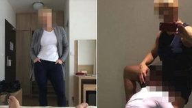 Pornoučitelka z Pardubic zase učí, její intimní fotku měl jeden z žáků vylepenou doma