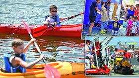 Vyrazte s dětmi na Ratolest Fest: Spousta zábavy na břehu Vltavy