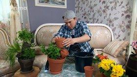 Vyrobte si s Láďou Hruškou neposlušné květináče