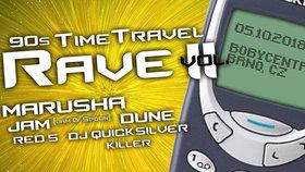 90s Time Travel Rave vol. II report: Party pro zkušené ravery, která zahřála u srdce