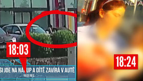 Rodiče v Brně málem uvařili dítě v autě! Vyváznou bez trestu