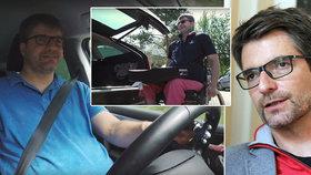 Ochrnutý Michal Jančařík: Z invalidního vozíku sedl za volant!