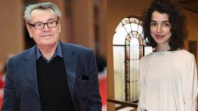 Hvězda filmu Dukla 61 je vnučkou Miloše Formana: O posledním setkání s dědou