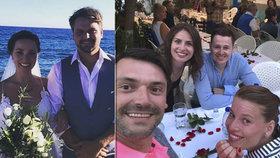 Pepa Vágner se oženil na Krétě! Hosté se sjeli z celého světa