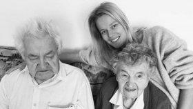 Houdová oplakává milovaného dědečka! Věří, že se s ním opět shledá