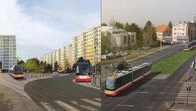 Tramvajová trať z Kobylis do Bohnic: Takhle by mohla vypadat. A kdy ji zprovozní?