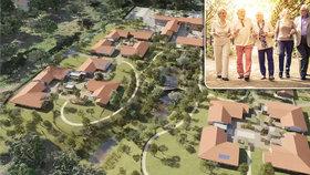 Ve Francii staví experimentální vesnici pro lidi s Alzheimerem. Bude to ghetto?