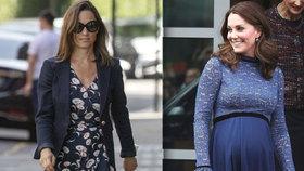 Těhotná Pippa zatahuje bříško a cvičí! Proč je na tom líp než Kate?