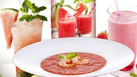 Melounové pošušňání: 3+1 recept na rychlé letní osvěžení