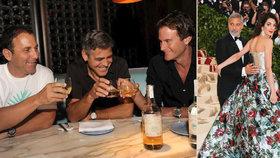 Nebývale štědré gesto George Clooneyho: Kamarádům rozdal 300 milionů!