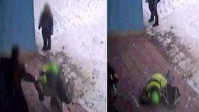 Brutální případ šikany: Alexe (10) učitel škrtil a shodil ho ze schodů, tvrdí matka