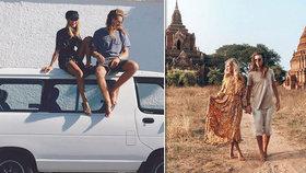"""Mladý pár instagramových cestovatelů: """"Za vším tím pozlátkem je tvrdá dřina!"""""""