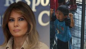 """Melania proti Trumpovi? Kritizuje trhání rodin migrantů. """"Vládněte srdcem,"""" řekla"""