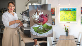 Podnik s tradicí: Martina (45) navazuje na práci své tchyně. V kavárně s galerií nabízí kvalitu a přátelské prostředí