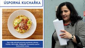 """Ministerská """"kuchařka pro chudé"""" děsí experty: Nezdravá a drahá jídla z konzerv"""