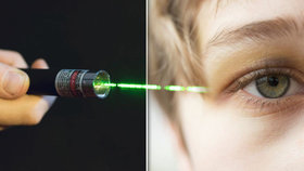 Laserové ukazovátko vypálilo chlapci (9) zrak. Nepomůže mu ani operace