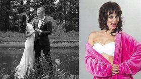 Těhotná hvězda Tváře Procházková: Druhé líbánky a vzpomínky na utajenou svatbu!