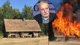 Dvorní režisér Bohdalové Zelenka: Tak nám shořela chaloupka!