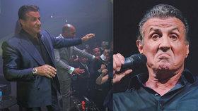 Sylvester Stallone a jeho londýnská oslava 72. narozenin: Ochranka nezvládala!