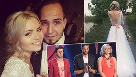 Zpěvačka skupiny Verona se o víkendu vdala: Mrkejte na ty šaty!