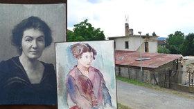 30 nalezených akvarel od malířky židovského původu Gertrudy Kauders: Jde o zbytky, nebo skvost?