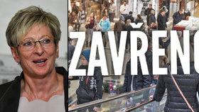"""Babišova ministryně chce zrušit zavírání obchodů na vybrané svátky: """"Přežitý zákon"""""""