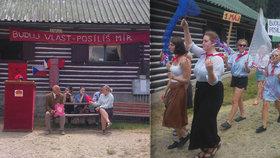 KomančKemp: Kádrování, rudé vlajky a buzerace! Studenti si zkusili, jak se žilo za totáče