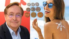 Chytrá mincovna: Kolik opalovacího krému opravdu potřebujete? Nešetřte a mažte!
