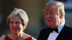 Trumpova nevybíravá kritika: Do Mayové se pustil kvůli brexitu, koho dalšího si vzal na mušku?