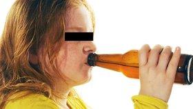 Školačky se opily do bezvědomí: Slavily patnáctiny kamarádky, neudržely se na nohách