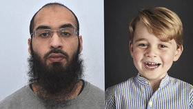 Zabijte prince George (4), nabádal terorista. Dostal doživotí