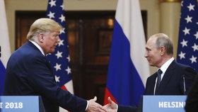 Putin pozval Trumpa do Moskvy. Další setkání prezidentů Ruska a USA na obzoru