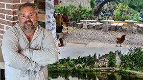 Sládek Milan (52) zachránil chátrající mlýn v Unhošti u Prahy: Vaří v něm pivo, které nepije