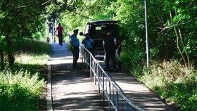 Tragédie na Benešovsku: V lese našli ohořelé lidské tělo!